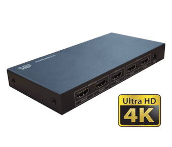 4 Way 4K HDMI 1.4a Active Splitter 1 in 4 out