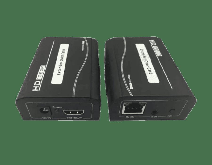 50 Meter Cat 5 HDMI Video Extender 1080P