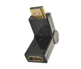 HDMI Adjustable Right Angle Adaptor