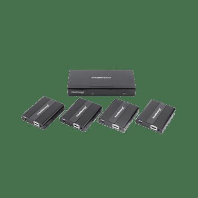 Antiference HDMI0104SCATV2 1 x 4 HDMI 4K Splitter Over Cat 6