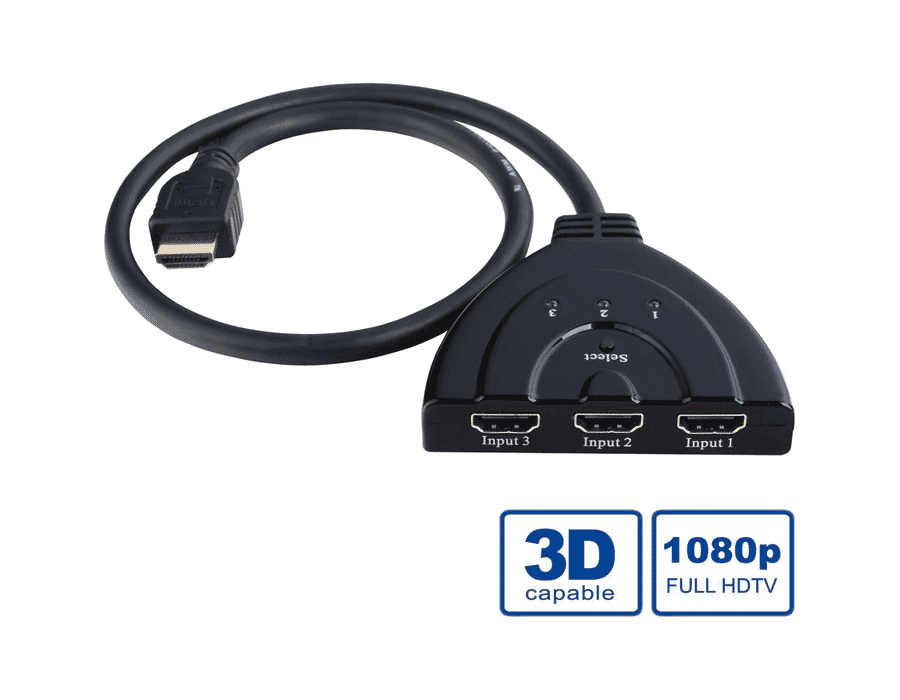 Passive Automatic HDMI Input Selector Switch