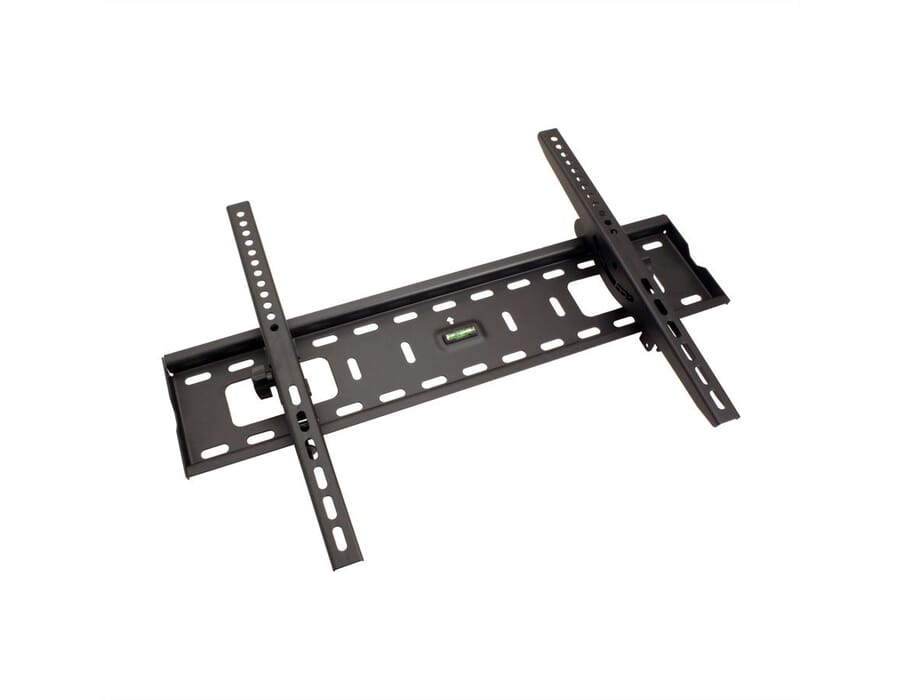 Heavy duty wall brackets for large format display screens and TV's up to 70 inches