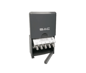 4 Way Masthead Outdoor Aerial Splitter with DC Pass