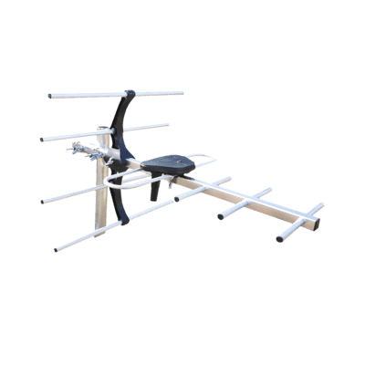 Ultra Compact 7 Element Lightweight Digital TV Aerial
