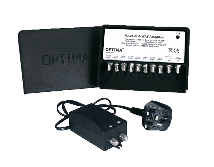 Optima Masthead Amplifier with Power Supply