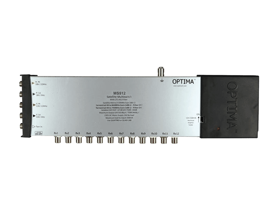 Optima Mains Powered LTE Satellite Radial Multi-switch