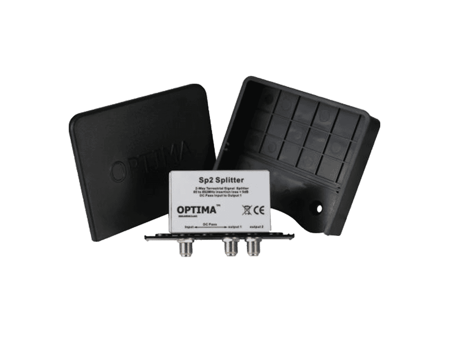 Optima Masthead Splitter with DC Pass