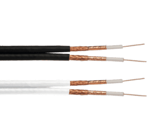 Value RG6 Twin Low Loss Screened Coax Cable