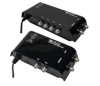 Indoor Amplified UHF Distributor Splitter IR Pass