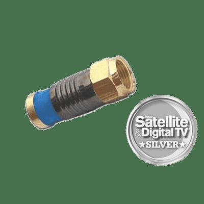 Snap seal Premium F Type Plug Connector