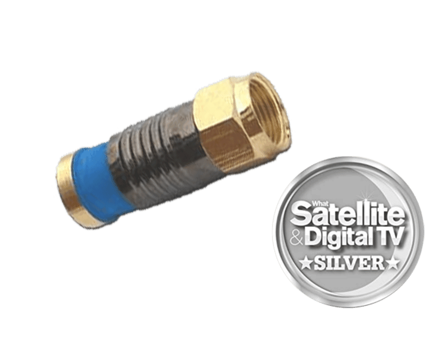 Snap seal Premium F Type Plug Connector