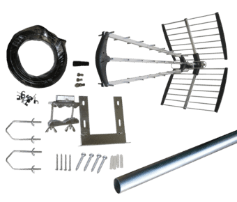 Professional 64 Element Digital TV Aerial Installation Kit