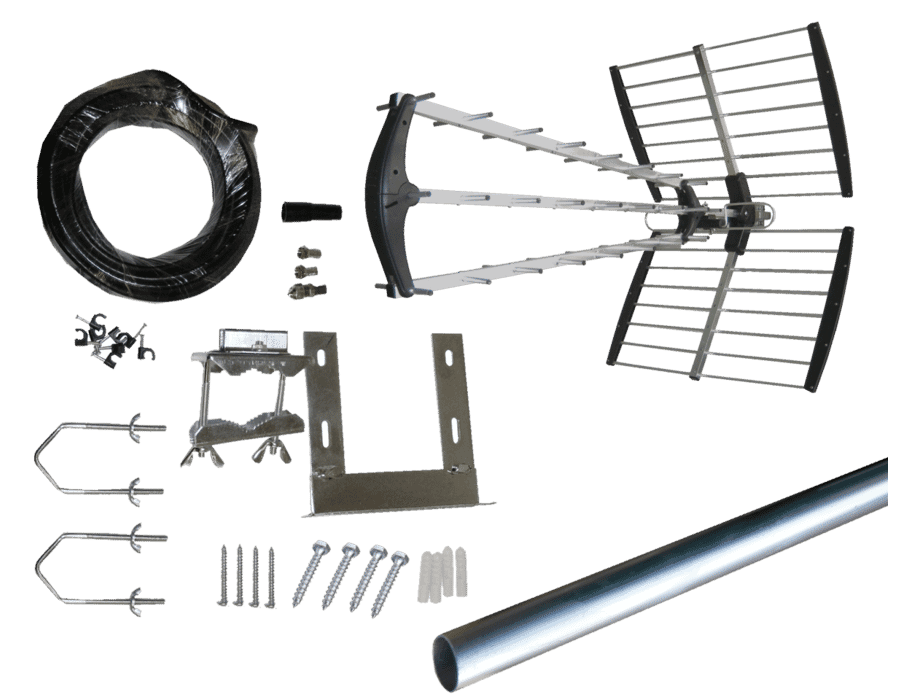 Professional 64 Element Digital TV Aerial Installation Kit