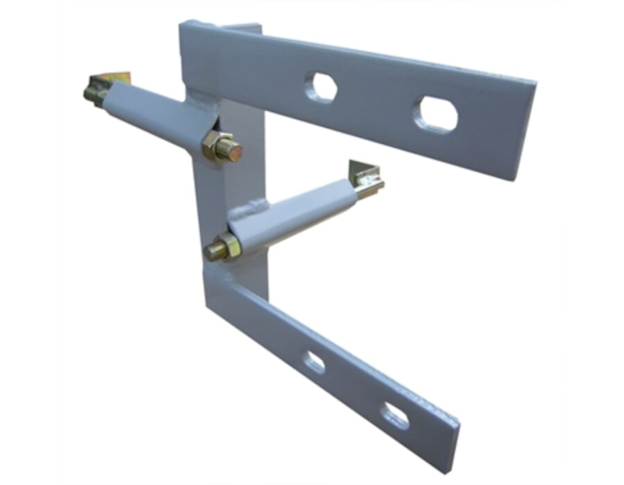 8 Inch Self Supporting Aerial Chimney Corner Bracket