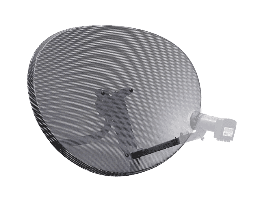 SKY Zone 2 Satellite Dish & Wall Mount