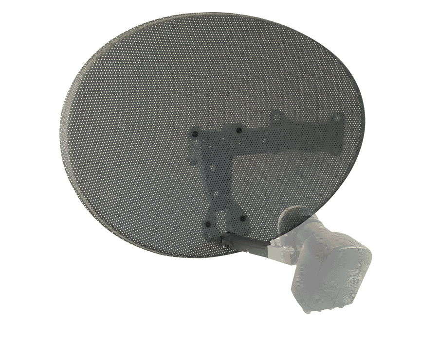 SKY Zone 1 Satellite Dish & Wall Mount