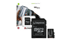 Kingston Canvas Select Plus Class 10 MicroSD Flash Memory Card