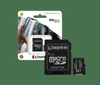 Kingston Canvas Select Plus Class 10 MicroSD Flash Memory Card