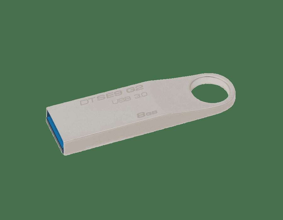 Kingston DataTraveler SE9 G2 USB 3.0 Flash Drive Silver