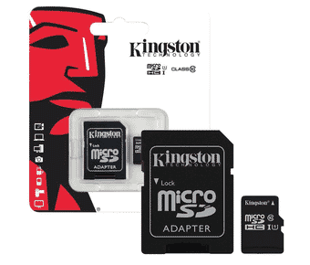 Kingston MicroSD CLass 10/UHS-I Flash Memory Card