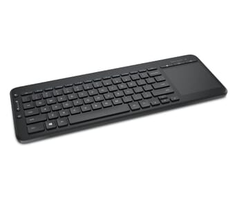 Microsoft All-in-One Wireless Media Keyboard with track-pad (UK)