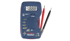 Compact Pocket 600V AC/DC Digital Multi-meter