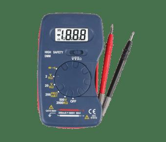 Compact Pocket 600V AC/DC Digital Multi-meter