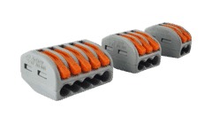 Wago 2, 3 or Lever Clamp Terminal Connector