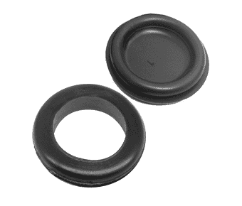 Rubber open and blind grommets (25pc)