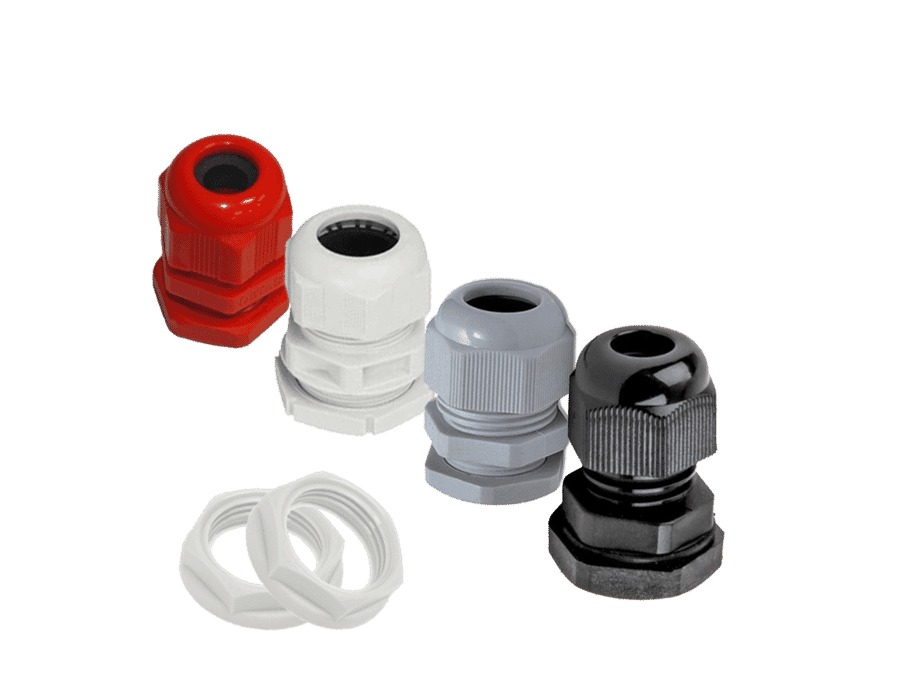 IP68 Round Top Cable Compression Gland and Locknut