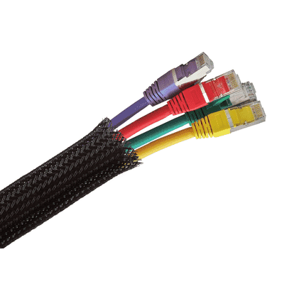 LSZH Expandable Braided Cable Sleeve on a 25 Metre Roll