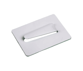 Self Adhesive Steel Cable Clips White 100pc