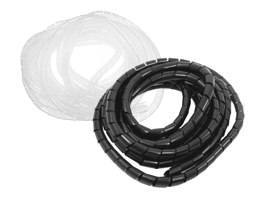 Spiral Cable Tidy Wrap Sleeve 10m Pack