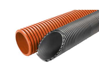 Underground Twin Wall Corrugated Data or Electrical Ducting