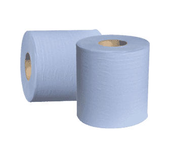 Blue Roll Paper Tissue Wipes 195 mm x 180 m
