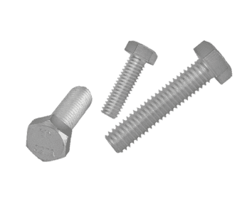 304 Stainless Steel Hex Head Bolt Screw (10 Pack)