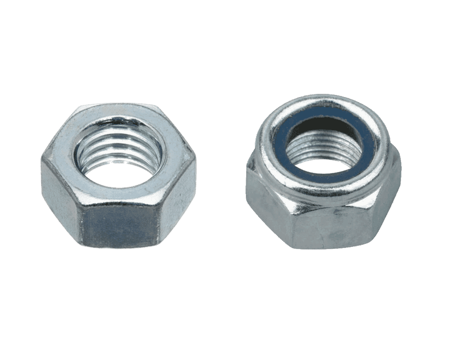 Zinc Plated High Tensile Steel Nuts (25 Pack)