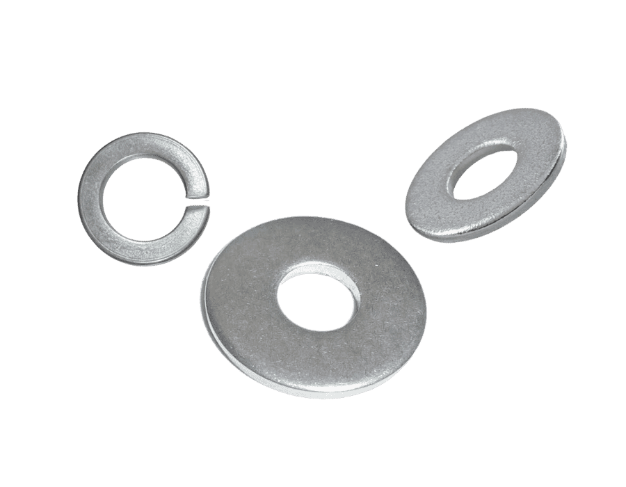 High Tensile Steel Zinc Plated Washers (25 Pack)