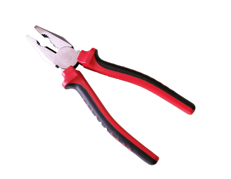 8 Inch Heavy Duty Soft Grip Combination Pliers