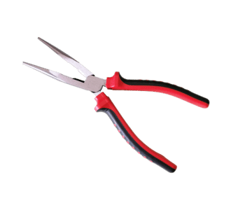 8 Inch Heavy Duty Soft Grip Long Nose Pliers