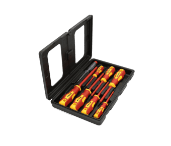 8 Piece 1000 volt VDE Insulated Screwdriver Set
