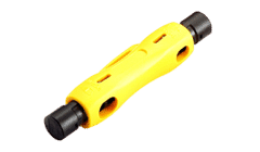 Barrel Style Coax and Cat 5/6 Barrel Cable Stripper