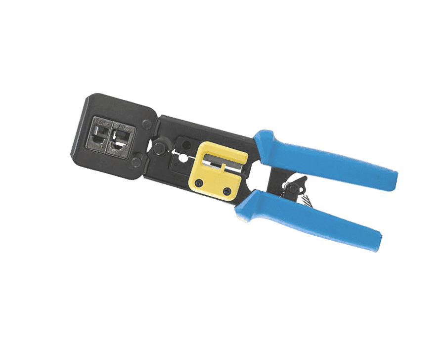Easy Fit Push Through RJ45 Crimp and Cut Tool