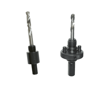 Hole Saw Arbor or Mandrel with HSS Bit