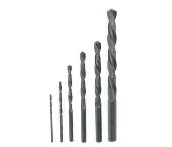HSS Jobber Twist Drill Bits for Metal and Plastic