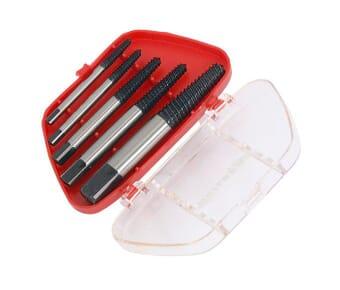 5 Piece Screw Extractor Set 3 - 18 mm