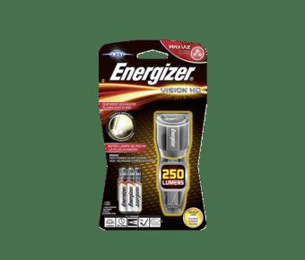 Energizer Tough Metal 250 Lumen LED Torch