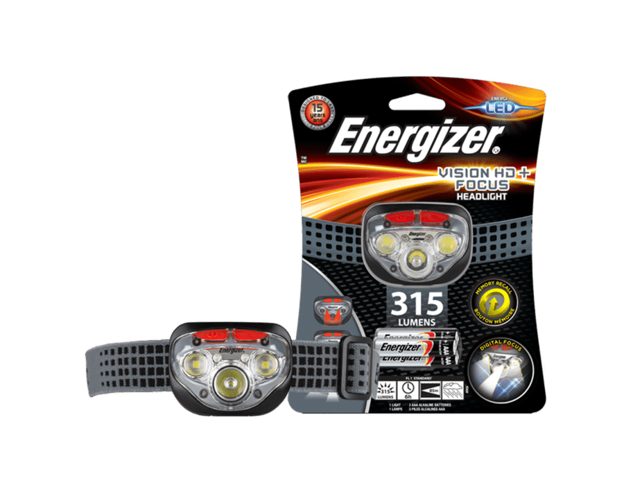 Energizer Vision HD+ Focus Headlight Torch