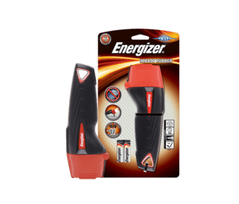 Energizer Impact Rubber LED Torch