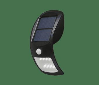 Diamond 2 Watt Solar LED Wall Light with PIR